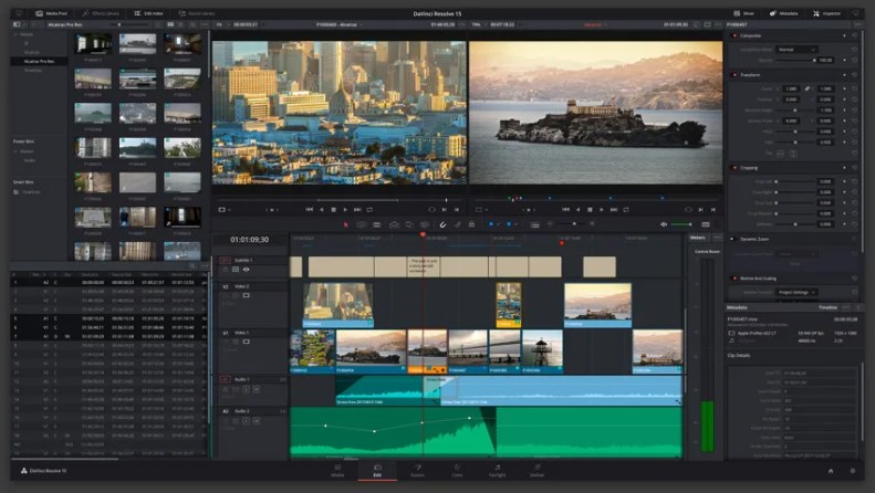 Professional editing, visual effects, color correction and audio post!