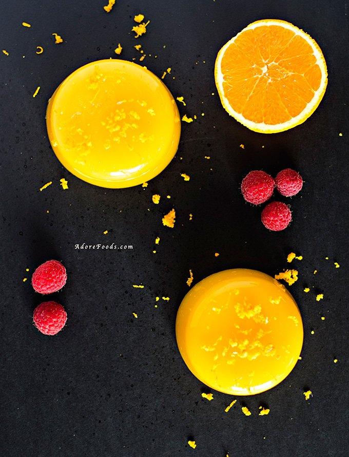 Costa Rican Orange Pudding