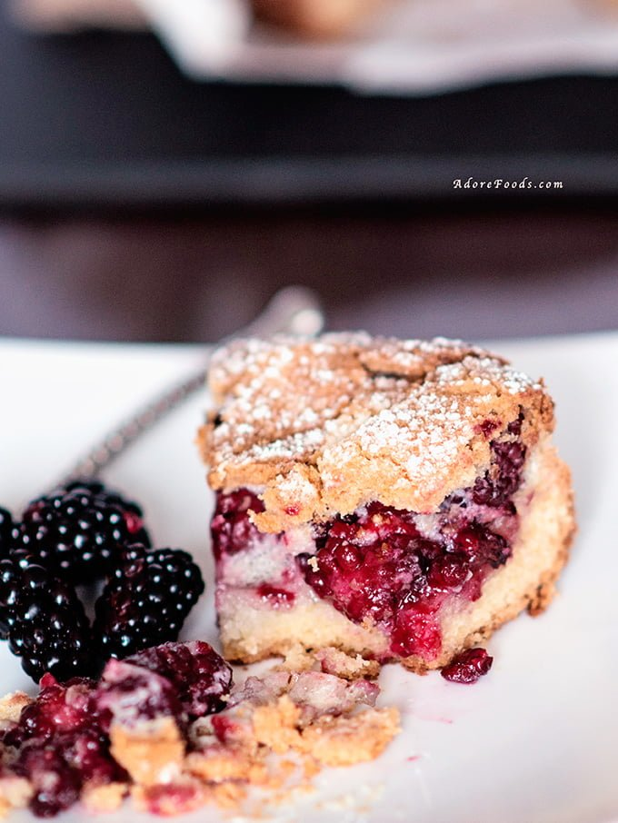 Croatian Blackberry Pie (pita od kupina) #berrypie