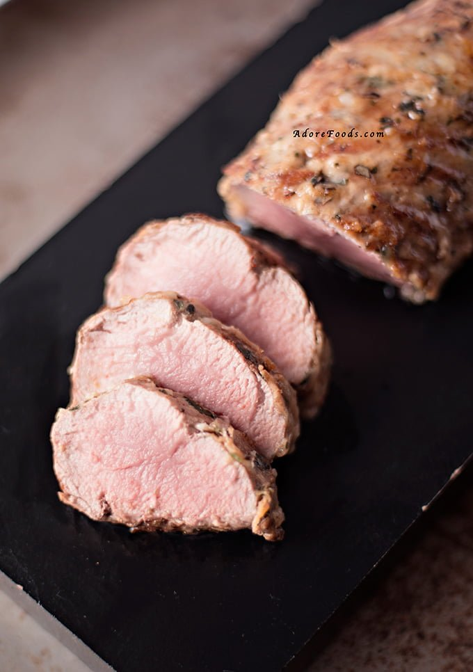 Brazilian Pork Tenderloin with Parmesan Crust