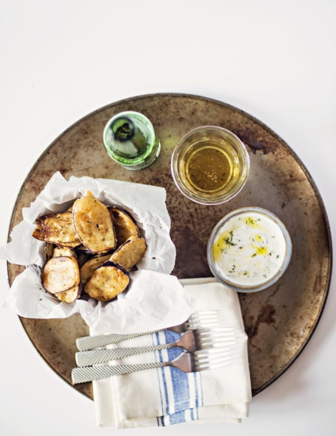 Greek Fried Eggplant Recipe