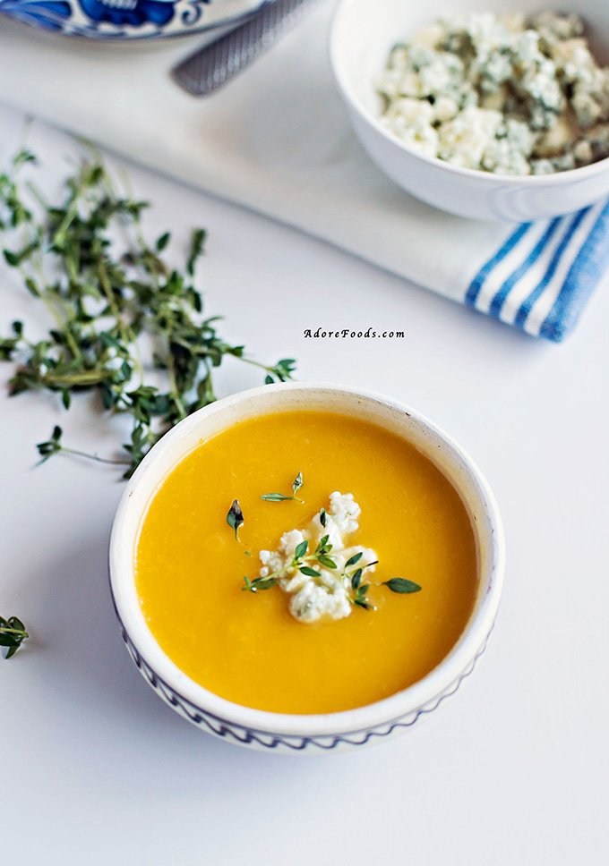 Pumpkin and Fennel Soup