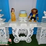 Decoração Kit Provençal Festa Infantil A Bela e a Fera