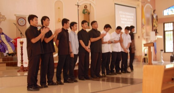 Acceptance to the Postulancy and Novitiate