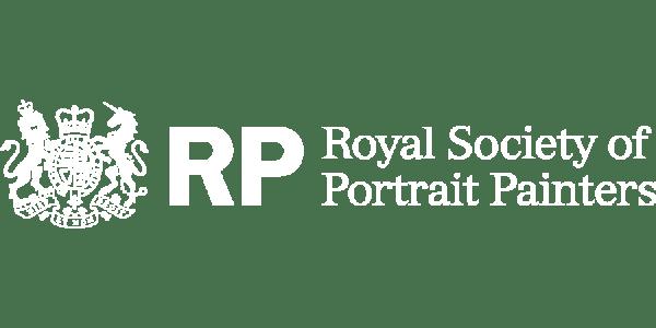 Royal Society of Portrait painters logo, client of a dozen eggs