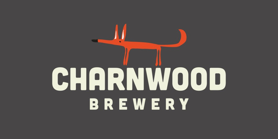 Brand identity including Clarence the Fox for Charnwood Brewery, a Loughborough local brewery.