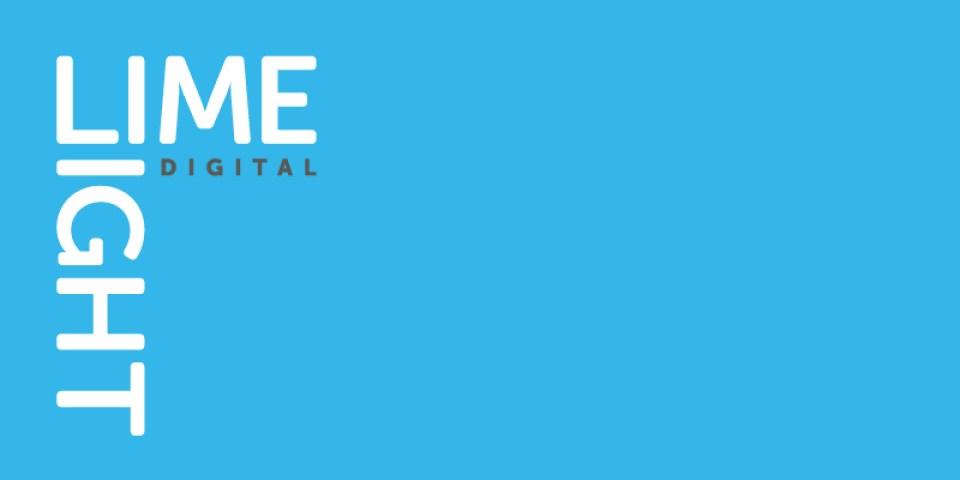 Brand for a digital marketing agency based in Loughborough, Limelight digital.