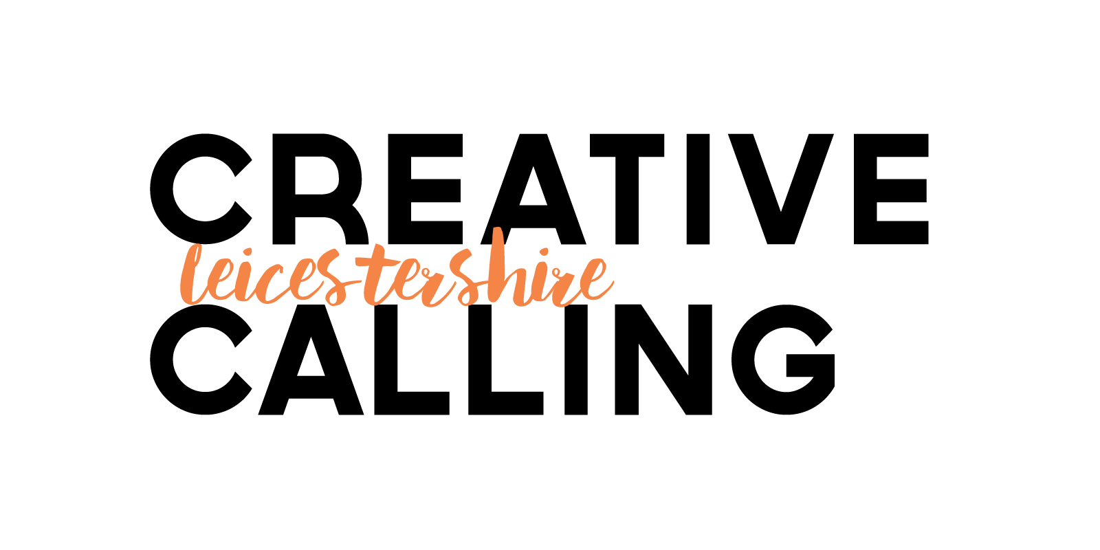 Ident for Creative Calling a blog showcasing events and talent across Leicestershire.