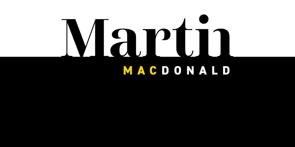 Martin MacDonald logo design