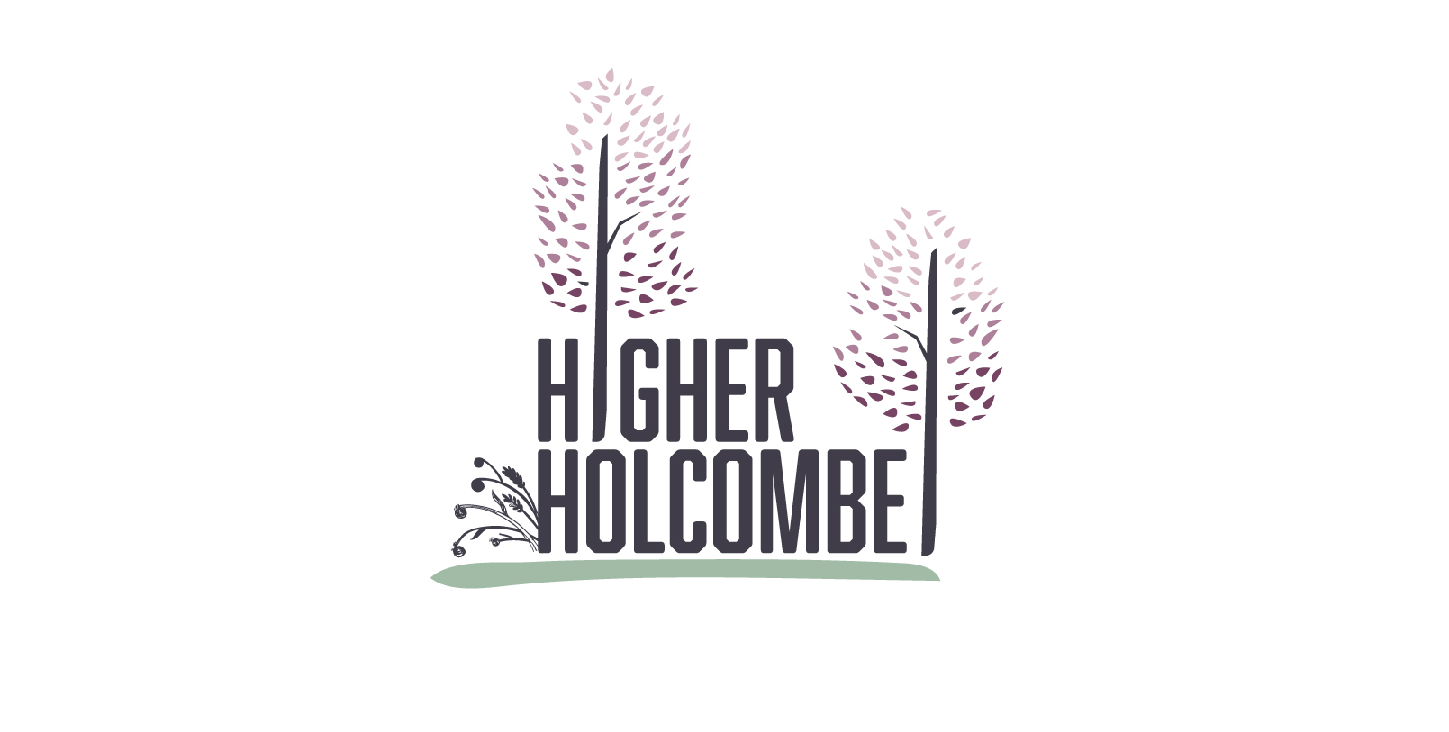 Higher Holcombe logo variations