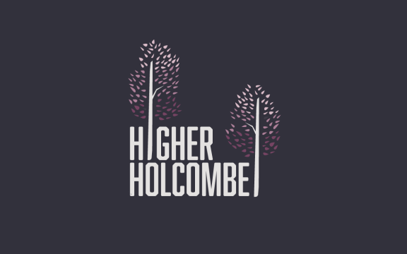 Branding for Higher Holcombe, farm in Devon specialising in weddings and events