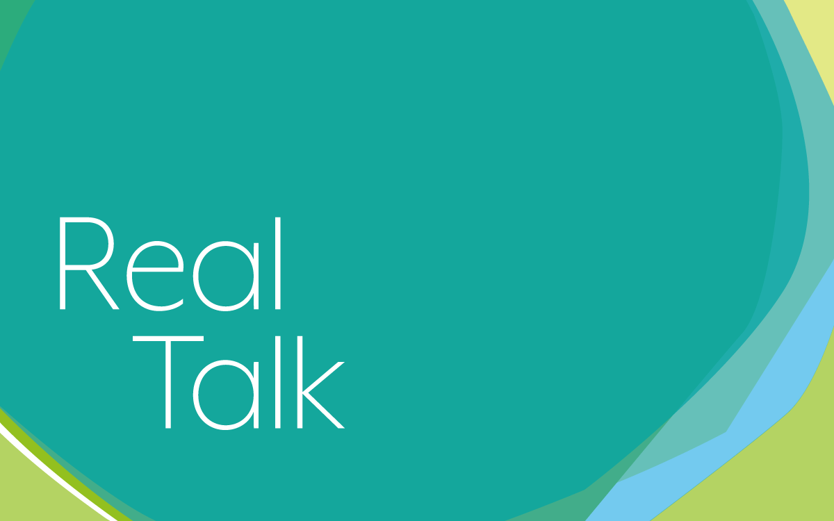 Real Talk logo for Loughborough University research group