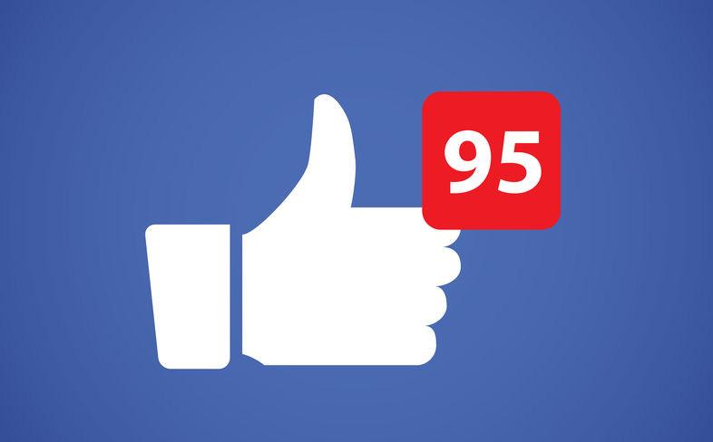 Thumbs up like social network