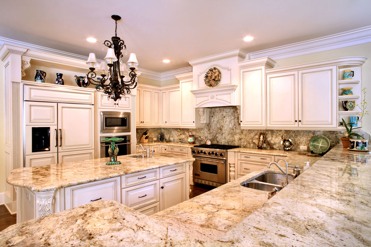 Custom Granite Countertops | ADP Surfaces on Backsplash Ideas For White Cabinets And Granite Countertops  id=50068