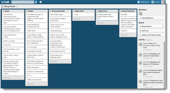 Trello-Blog-Posts