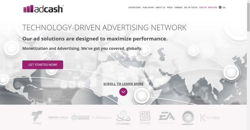 High Quality Ads From Leading Brands And Exclusive Pricing Models Designed To Effectively Monetize Publishers Online Content And Increase Revenue