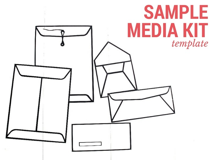 Sample media kit template for bloggers and publishers for Advertising media kit template