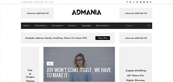 15 Best AdSense Optimized Themes for WordPress