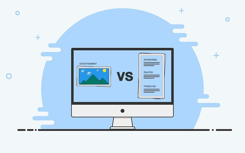 Native Ads vs Display Ads