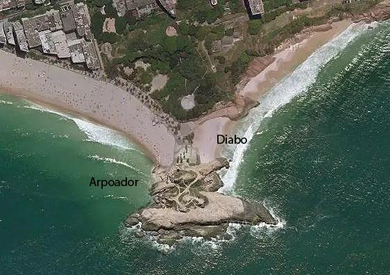 praias do arpoador e do diabo