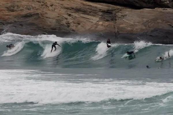 surf na praia do arpoador