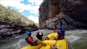 Chapada dos Veadeiros - Rafting - Rio Tocantinzinho