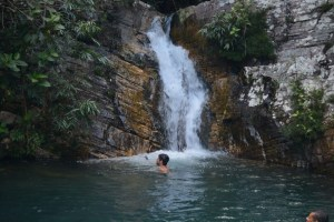 Cachoeira Santa Bárbara - Barbarinha - Chapada dos Veadeiros