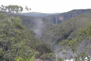 Chapada dos Veadeiros - Catarata dos Couros - cânion do rio dos Couros