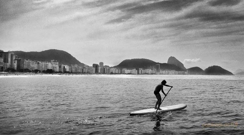 stand up paddle em copacabana - posto 6