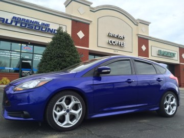 Greenville Ford Focus ST Client Gets Upgraded Audio System
