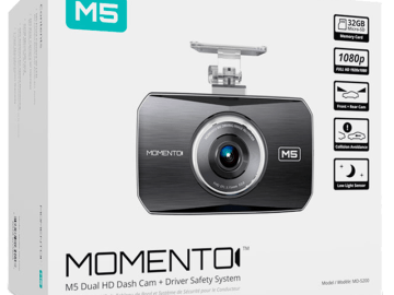Enhance Your Driving Safety with the Momento M5 Camera