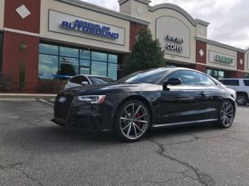 Fayetteville Client Gets Audi RS5 Subwoofer System Upgrade
