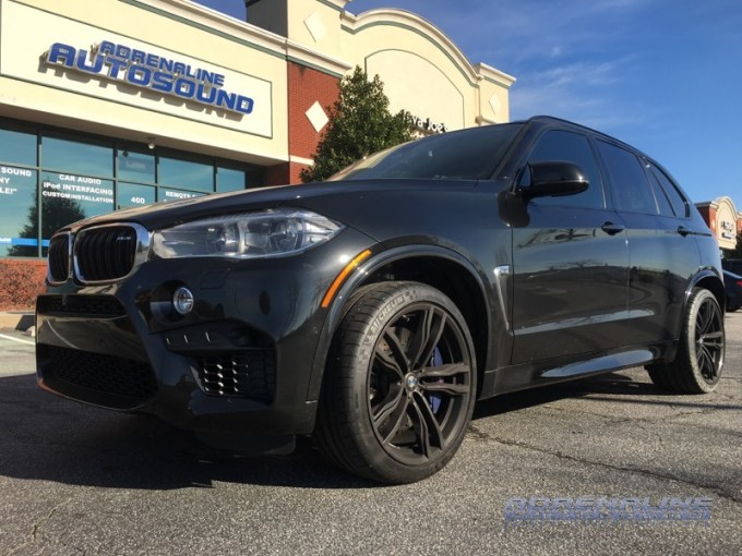 BMW X5M Multi-channel Audio