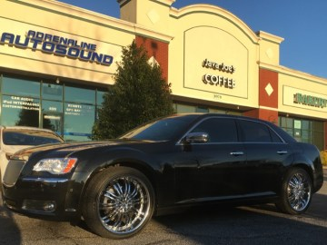 Smithfield Client Gets Impressive Chrysler 300S Audio System Upgrade