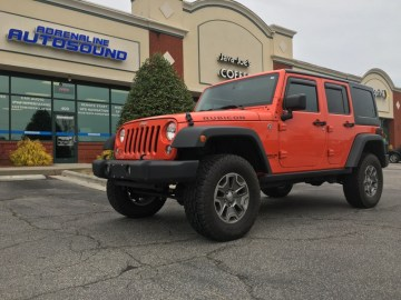 Jeep Wrangler Audio Upgrade for Apex Client
