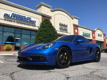 Repeat Wilson Client Upgrades Porsche Cayman Audio