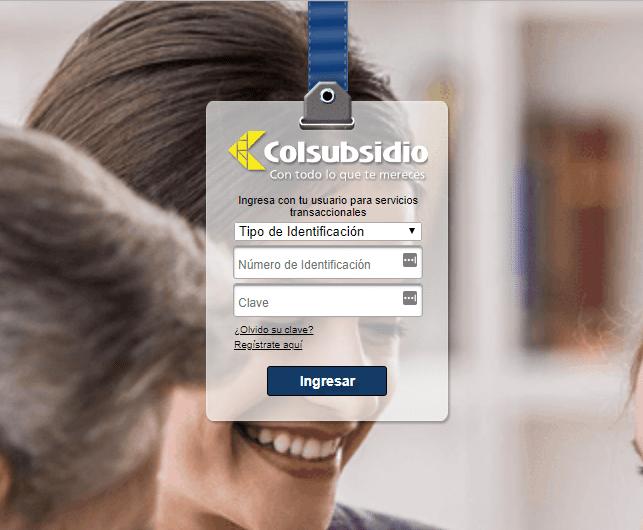Citas médicas Colsubsidio por internet