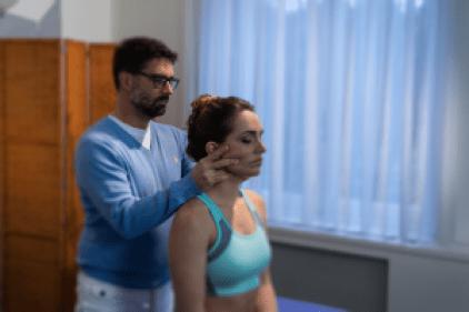 Manuele therapie in den Haag, nekbehandeling