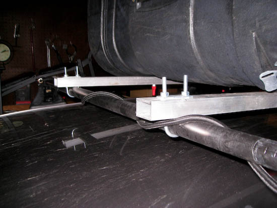 how to make your own roof rack cross bars