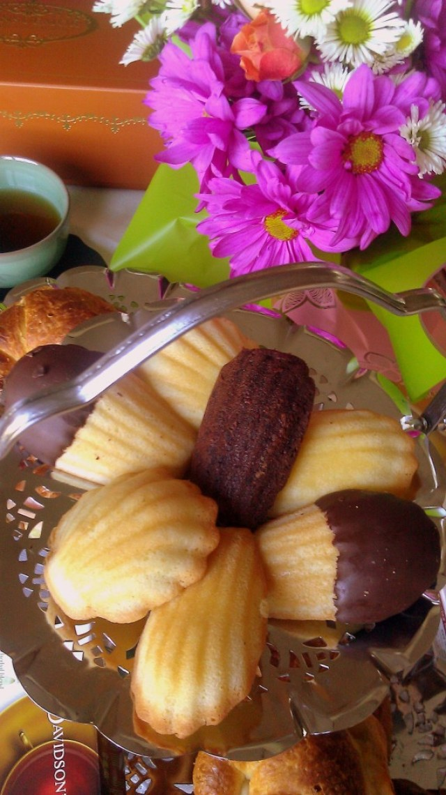 Donsuemor Madeleines to enjoy a Tea Party
