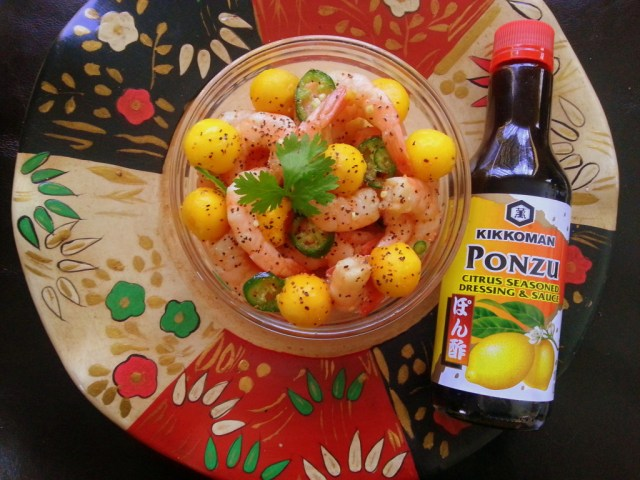 Ceviche with Kikkoman Ponzu Lime Sauce #KikkomanSabor