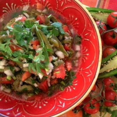 Cactus Nopalitos Salad