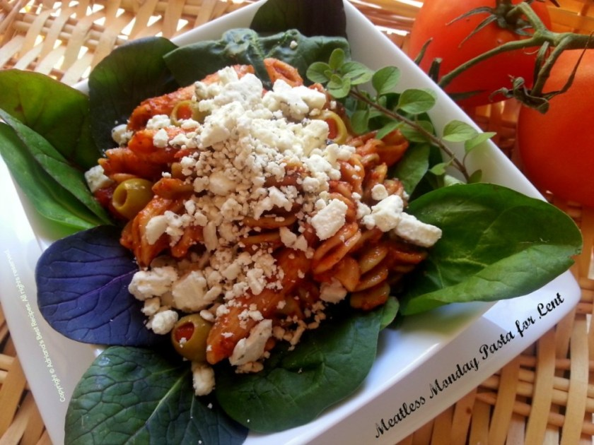 Meatless Monday Pasta #ABRecipes