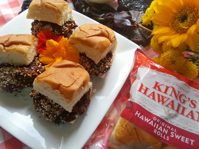 Chicken Mole Sliders my entry for KING'S HAWAIIAN® Go PupuleTM Recipe Sweepstakes