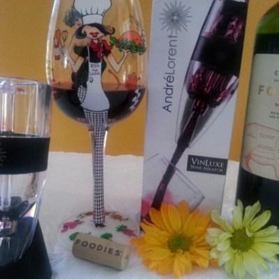 Enjoying Wine with my VinLuxe Aerator