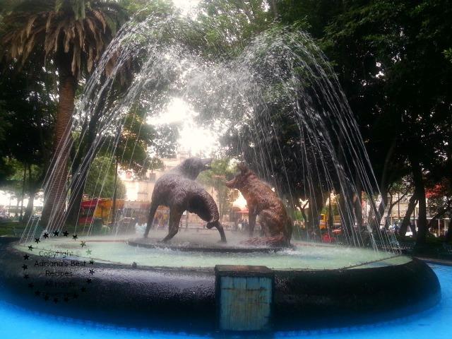 Fuente de los Coyotes in Coyoacan