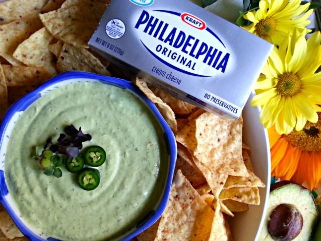 KRAFT Spicy Avocado Dip with PHILADELPHIA Cream Cheese