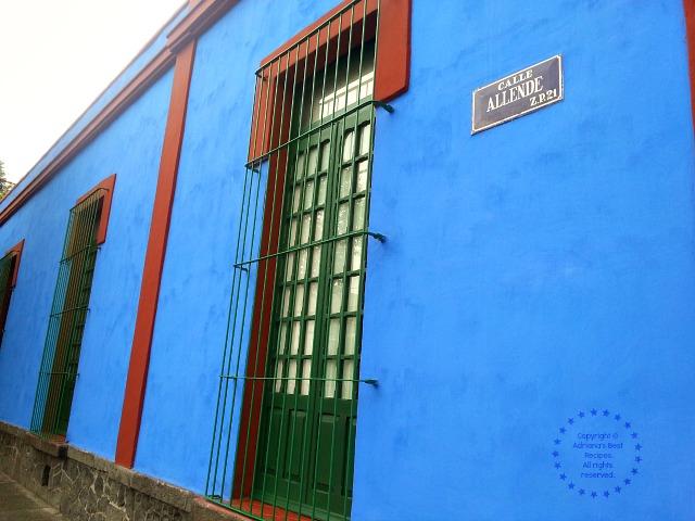 La Casa Azul in Coyoacan