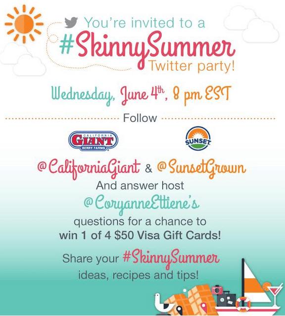 Skinny Summer Twitter Party June 4