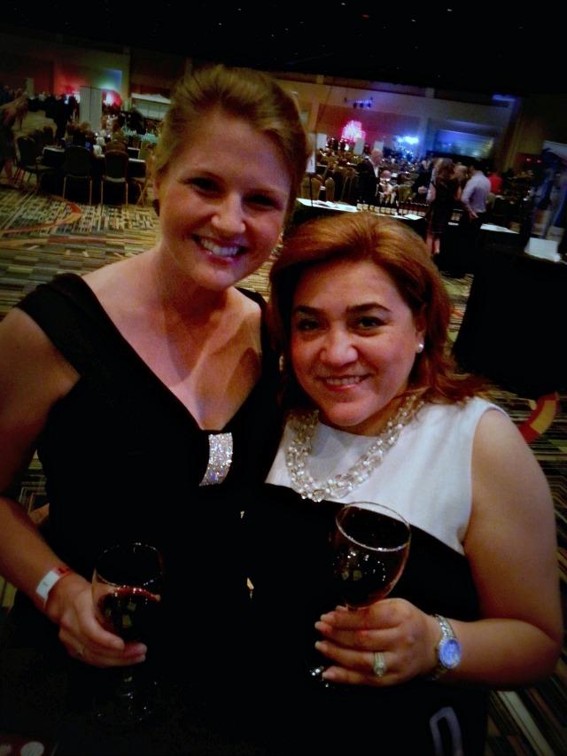 Kristina LaRue and Adriana Martin at #OrlTaste 2013